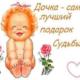 Доброе поздравление с днем рождения дочери красивое
