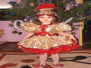 Как сшить костюм конфетки на Новый год?