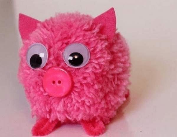 11Поделка свинья своими руками на елку
