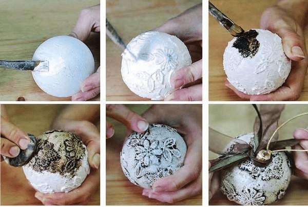 12Игрушки на елку своими руками из подручных материалов