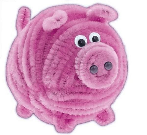 12Поделка свинья своими руками на елку
