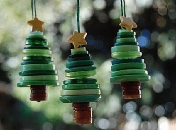 15Игрушки на елку своими руками из подручных материалов