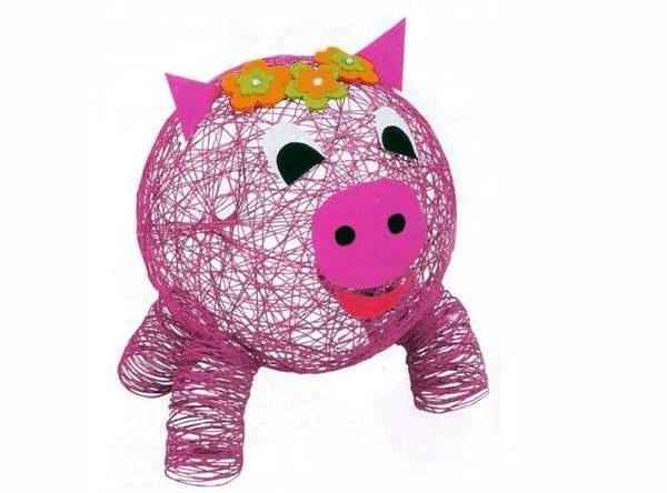 3Поделка свинья своими руками на елку
