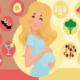 Диета для беременных для похудения: эффективные меню